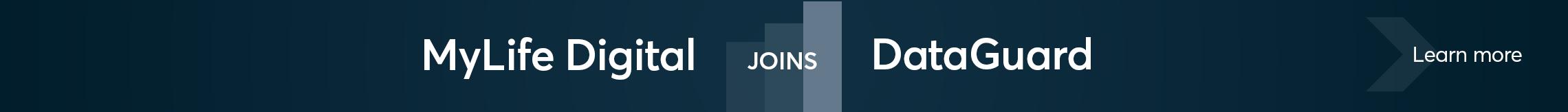 MyLifeDigital Joins DataGuard